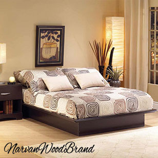 bed-set Narvan Wood Brand